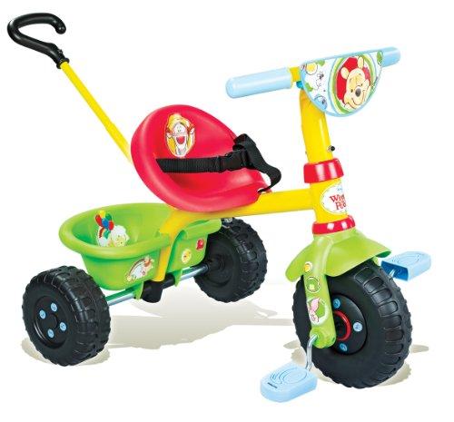 Smoby - 444148 - Vélo et Véhicule pour Enfant - Porteur et Tricycle - Be Fun - Winnie