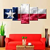 5 Piece Canvas Wall Art Native...