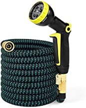 Full Copper High Pressure Car Wash Water Gun Set Home 3 Times Telescopic Garden Hose EU (Upgraded)