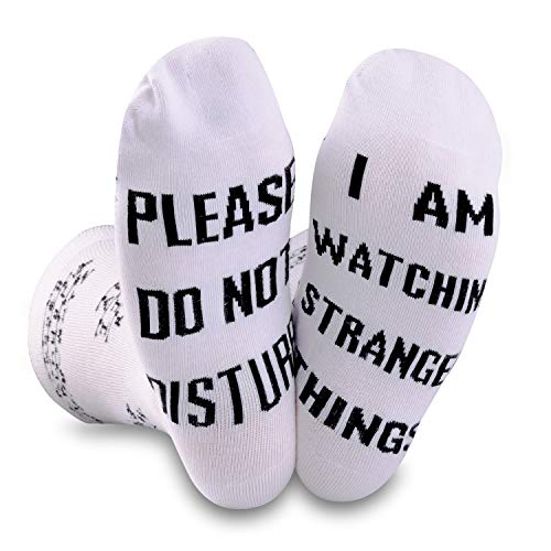 TV-show inspirerade strumpor Please Do Not Disturb Im Watching TV-show fans gåva