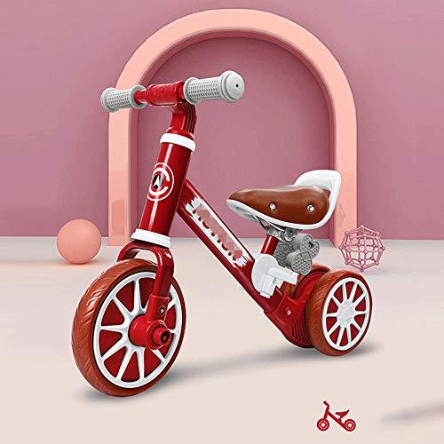 YSCYLY Bicicleta De Equilibrio Sin Pedal,Twist Bike Slide Bicicletas,para El Primer Regalo De CumpleañOs para BebéS En Bicicleta