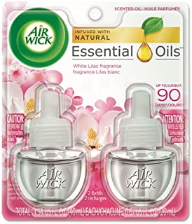 Air Wick Scented Oil White Lilac Air Freshener (2X.67) oz