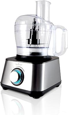 Kitchen Counter top Food Processor Chopper Slicer Ice Chopper, High Power, Stainless Steal,1000 Watt