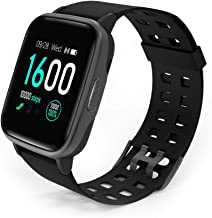 YAGALA Fitness Tracker Watch, Activity Tracker Watch 1.3 inch Touch Screen IP68 Waterproof Smart Watch with Heart Rate Monitor, Step Counter, Sleep Monitor, Pedometer Watch for Women Men Kids