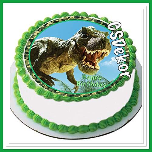 CS-Dekor 602 - Decoración para Tartas, diseño de Dinosaurios
