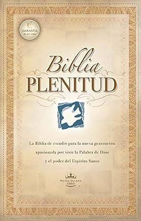 Biblia de estudio plenitud