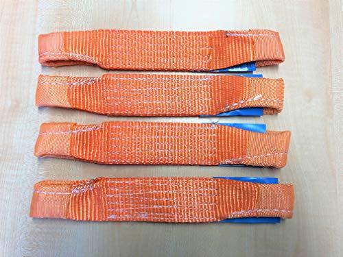 4 Stück Quergurt 50 mm für Spanngurt Zurrgurt für Pkw Auto Transport