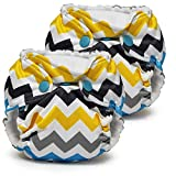 Kanga Care Lil Joey Newborn All in One AIO Cloth Diaper (2pk) Charlie...