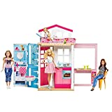 Barbie 2-Story House with Furniture & Accessories