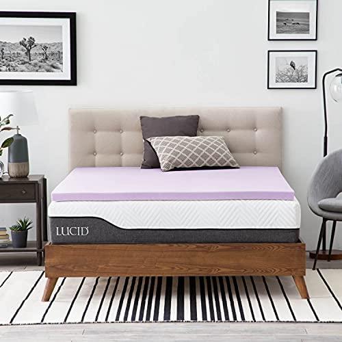 Top 10 Best sleep innovations memory foam mattress topper Reviews