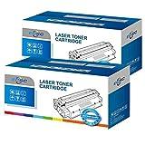 ECSC Compatible Virador Cartucho Reemplazo Por HP LaserJet Pro M12, Pro M12a, Pro MFP M26a, Pro MFP M26nw CF279A (Negro, 2-Pack)