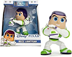 Jada Toys Metals Disney Pixar Toy Story Buzz Lightyear Die-Cast Collectible Toy Figure, 4\""