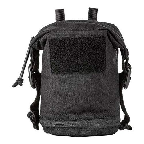 5.11 Tactical Style # 56490 Expandable Flex Vertical GP Pouch, Includes 2 Flex Hook Adaptors, Black