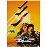 WYBFLF Leinwandplakat Top Gun Film Retro Poster Home