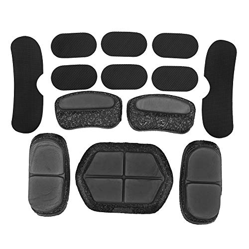 Delaman Almohadillas para Casco 13Pcs/Lot Airsoft Paintball Reemplazo Rápido del Casco DIY Cushion Protector EPP Esponja Pad Set