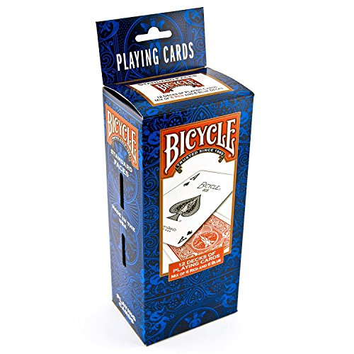 Bicycle Standard Index Playing Cards, 12 Pack