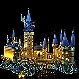 K9CK [Classique Jeu de Lumiere pour Lego Harry Potter Château de Poudlard 71043, Kit Lumières LED Compatible avec Modèle en Blocs de Construction( Modèle Pas Inclus)