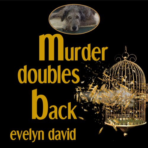 Murder Doubles Back audiobook cover art
