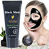 Venus Visage Black Mask,Blackhead Remover Mask,Purifying Peel-off Mask with Activated Charcoal,Deep Cleansing Facial