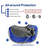 BIGWING Style Pet Sling Carrier for Dog Cat Pets Travel Shoulder Bags (L, Blue) 10