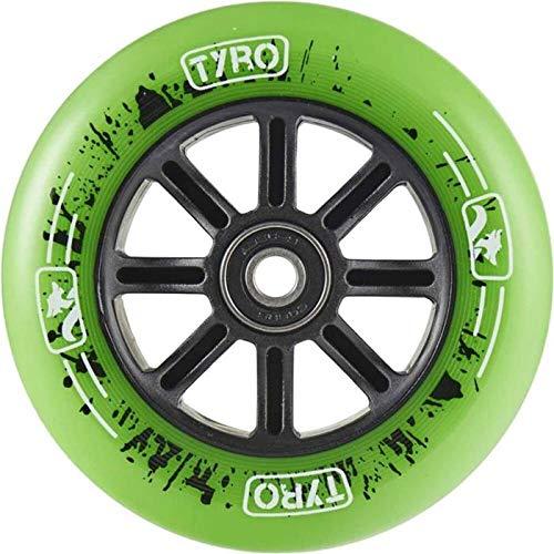 LONG WAY SCOOTER Longway Tyro Nylon Núcleo Rueda Patinete Freestyle Verde 110 mm