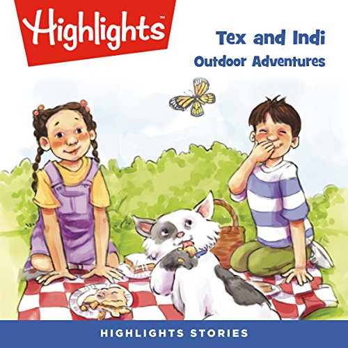 Tex and Indi: Outdoor Adventures audiobook cover art