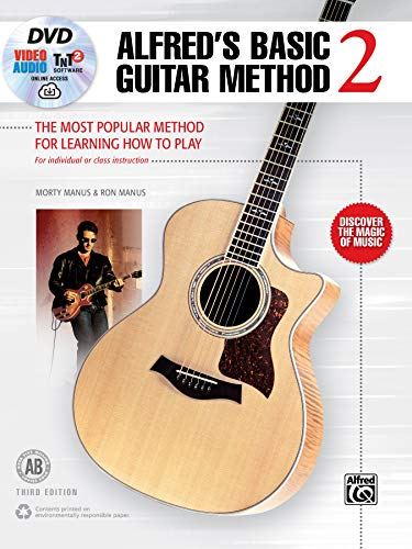 Alfred's Basic Guitar Method, Bk 2: The Most Popular Method for Learning How to Play, Book, DVD & Online Video/Audio/Software (Alfred's Basic Guitar Library, Bk 2)
