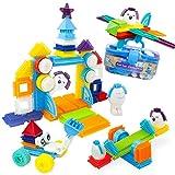 Bristle Interlocking Building Blocks for Boys and Girls,...