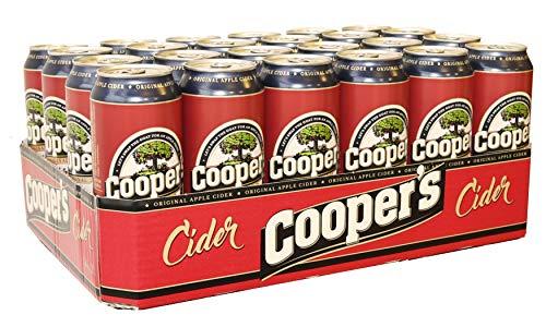 Cooper's Original Cider (24 x 0,5l) bester Apfelwein - pfandfrei