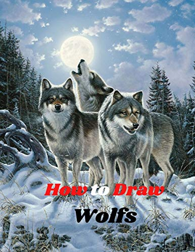 wolf drawing book - 2