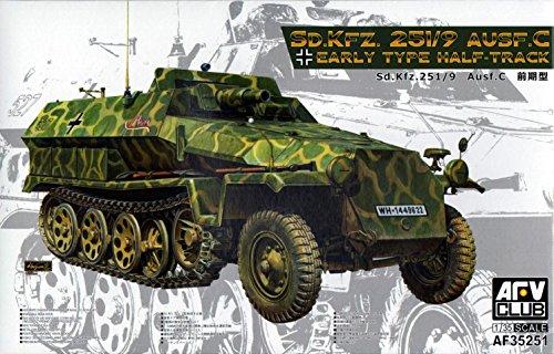 AFV Club Sonderkraftfahrzeug Ausführung C Halftrack Model Kit (1/35 Scale)