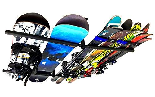StoreYourBoard Deckenregal für Ski und Snowboard, Hi Port 2 Deckenhalterung