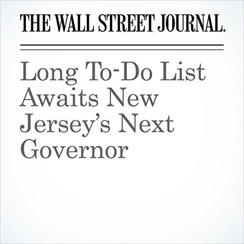 Long To-Do List Awaits New Jersey's Next Governor copertina