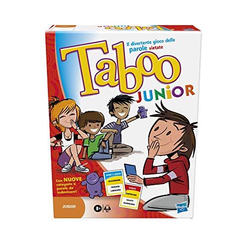Hasbro Gaming Taboo Junior Gioco in scatola per bambini da 8 anni in su, 14334103