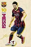 empireposter–Fútbol–Barcelona–Messi Vintage 13/14–Tamaño (cm), Aprox. 61x 91,5–Póster, Nuevo de