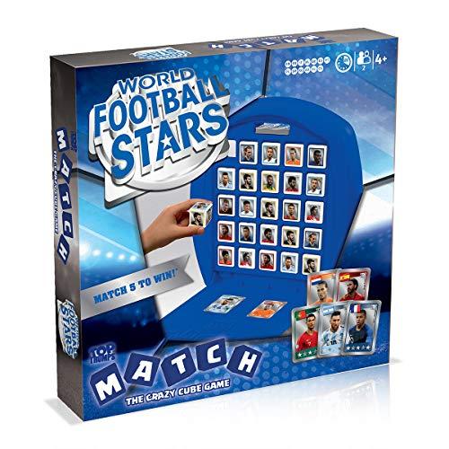 Winning Moves World Football Stars Top Trumps Match Board Game - Blue, WM01165-ML1-6