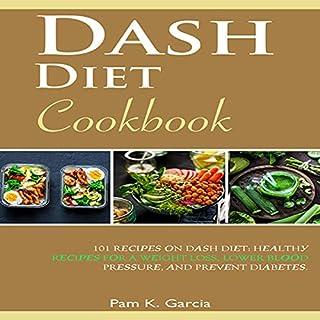 Dash Diet Cookbook audiobook cover art