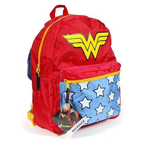 DC Comics Wonder Woman Belt Strap Red Mochila