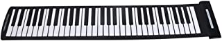 Andoer® Portátil 61 Claves Roll-Up Piano Flexible USB MIDI Keyboard Electrónico Piano Rollo de la Mano