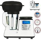 10 in 1 Thermo Multikocher Küchenmaschine mit Kochfunktion/Temperatur 1350 Watt 1.7 Liter Kochen,...