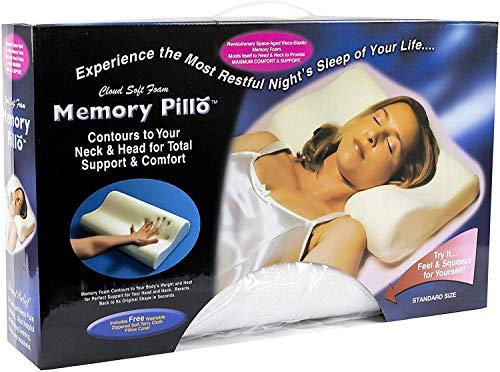 MEMORY PILLOW Almohada VISCOELASTICA Cervical Efecto Memoria VISCO Elastica