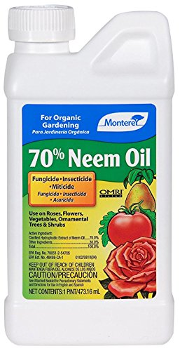Monterey LG6140 70% Neem Oil 16 Ounce, Clear