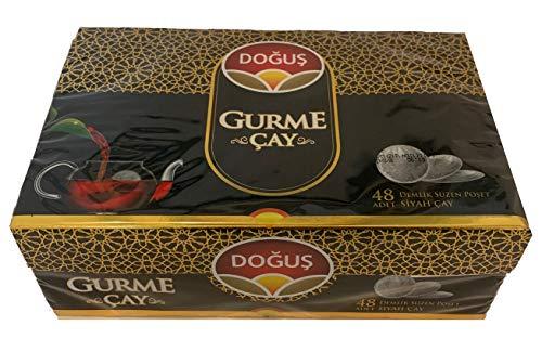Gurme Cay 48 Pads Beutel Gourmet Schwarztee - Dogus Türkischer schwarzer Tee