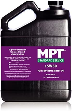 MPT MPT-250 5W-30 Standard Service Super Special SALE held Full Synthetic Max 88% OFF - 12 Motor Oil