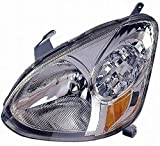 DEPO 312-1166L-AS Replacement Driver Side Headlight Lens Housing (This product is an aftermarket product. It is not created or sold by the OE car company)