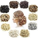 Ani · LNC 14Farben kurze Kunsthaar-Haarteile, Haarverlängerung, zwei Kunststoff-Haarclips