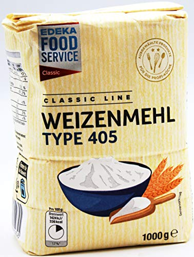 Classic Line Weizenmehl Type 405, 10er Pack (10 x 1 kg)