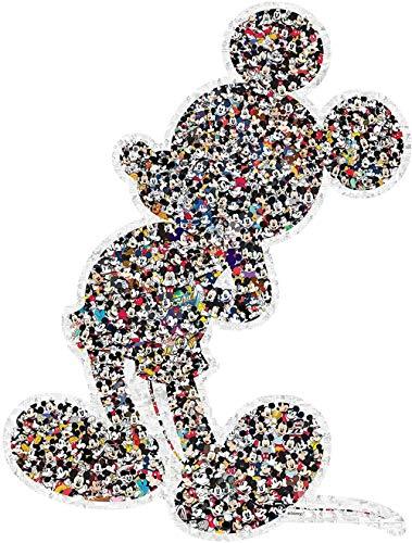 1000 Piezas de Rompecabezas de Madera para Adultos Mickey Mouse DIY Rompecabezas de Juguete Educativo Juego de Juguetes decoración de la Pared del hogar Rompecabezas de Regalo
