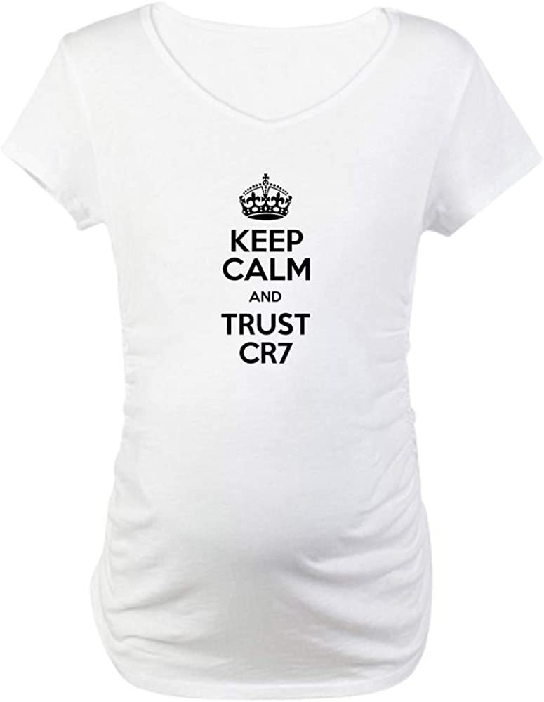CafePress Keep Calm and Trust Tee Maternity New mail order T CR7 Rapid rise