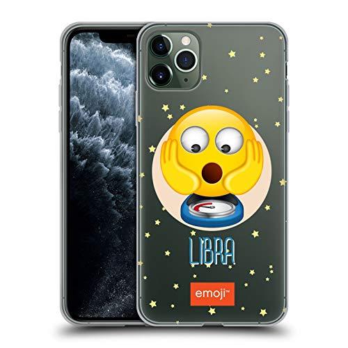 Head Case Designs Offizielle Emoji® Waage Sternzeichen Soft Gel Handyhülle Hülle Huelle kompatibel mit Apple iPhone 11 Pro Max